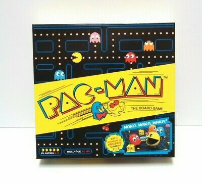 Pac-Man Board Game 2019 By Buffalo Games 2 to 5 Players Retro Nostalgic Fun