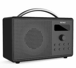 Senz Choice Compact Portable Digital DAB+ / DAB FM Radio Dual Alarm Clock