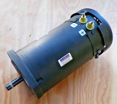 2 Hp 1800 Rpm 56c Frame 24 Volts Dc Tefc Ohio Electric Motor