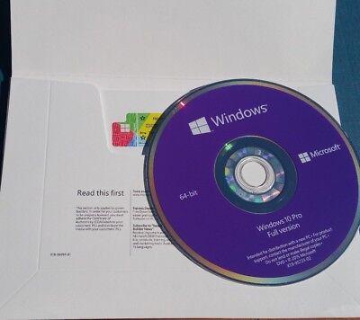 Microsoft Windows 10 Pro Professional 64Bit Full Version