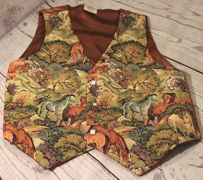 Crystal's Kids Western Show Vest Horses