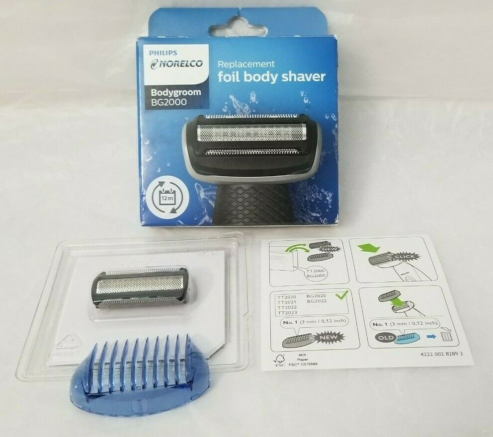 NORELCO BG2000 Replacement Foil & Cutter For Shaver & Trimme