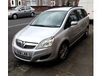 Vauxhall zafira 1.9 cdti exclusive