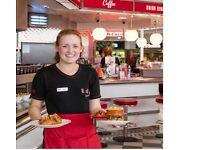 PART TIME Waitrer/waitress Counter Server Eds Easy Diner Metro Centre