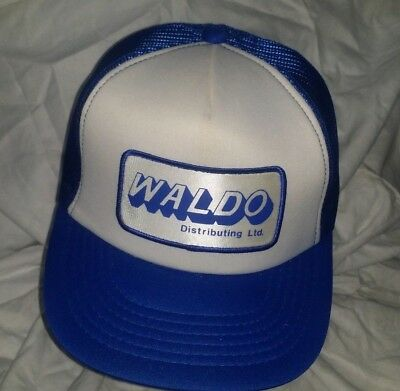 VTG Waldo Distributing Ltd Advertising Patch Hat - Waldo Hats