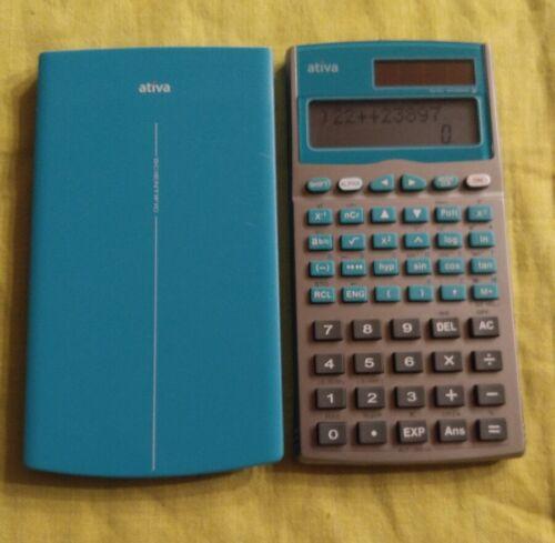 Ativa AT-30 Financial Business Calculator Silver/green