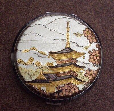 Vintage Japanese Chokin Art Compact