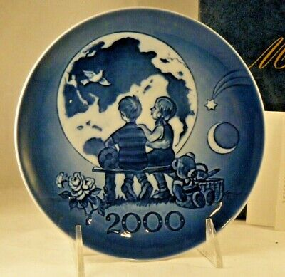 2000 Royal Copenhagen Millennium Plate