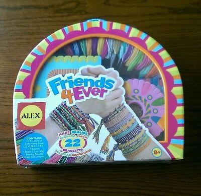 New ALEX Toys - Friends Forever Bracelet Making Kit! Kids Craft - Gift - Toy