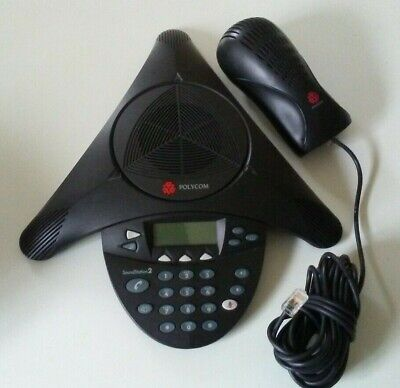 Polycom Soundstation 2 2201-16200-601 Expandable Excellent Condition With Power