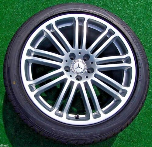 New Genuine Oem Factory Mercedes Benz Cl600 19 Inch Wheels Tires S600 S550 Cl550