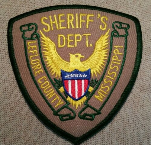 MS Leflore County Mississippi Sheriff Patch