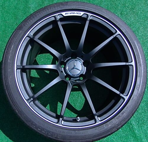 Set Genuine Original Oem Factory Mercedes-benz Amg C63 Black Series Wheels Tires