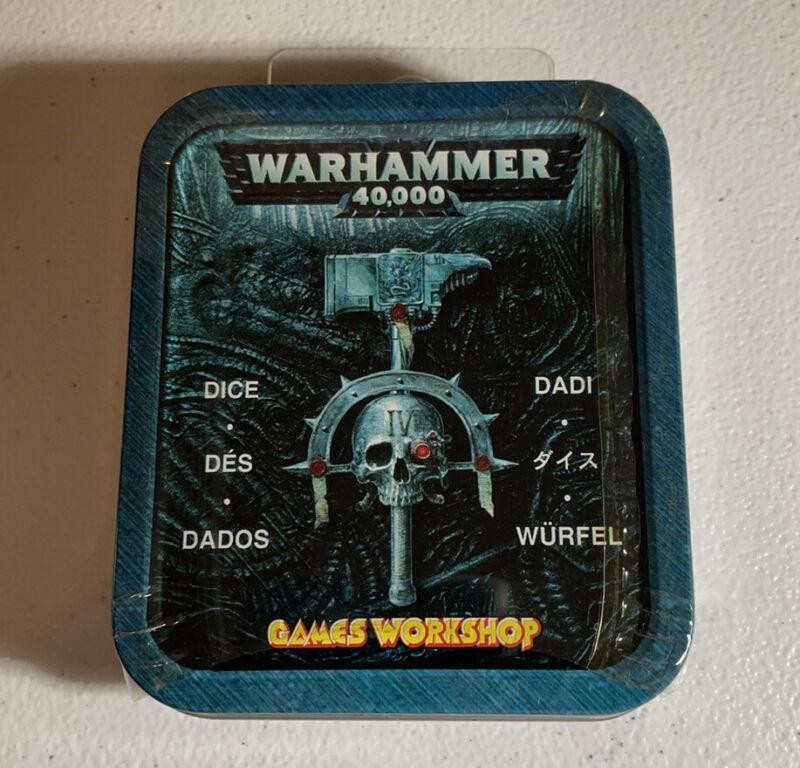 Warhammer Dice Set Collectors Tin *Sealed* Games Workshop 2004