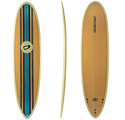 """Osprey 7ft 6"""" Epoxy Band Mini Mal Surfboard with Triple Fin Set Up"""