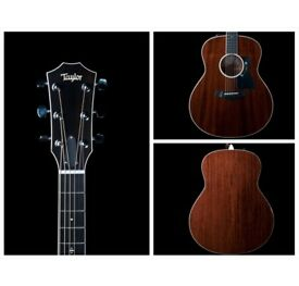Taylor 528ce All solid mahogany electro acoustic New Andy powers design Beautiful instrument