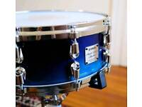 Yamaha maple custom absolute nouveau. Handpainted sea blue fade