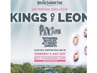 British Summer Time with Kings Of Leon,Hyde Park, London