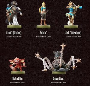 Wanted: Used Breath of the Wild Amiibo