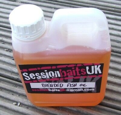 BLENDED FISH OIL 1LT CONTAINER CARP/BREAM/TENCH