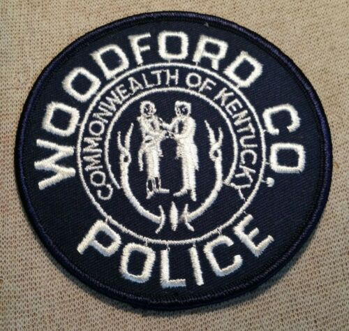 KY Woodford County Kentucky Police Patch
