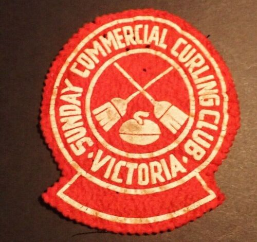 RARE Curling Club Patch - Sunday Commercial Curling Club Victoria BC