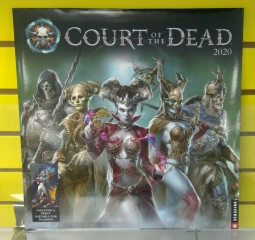 Court of the Dead 2020 Calendar Sideshow Collectibles New