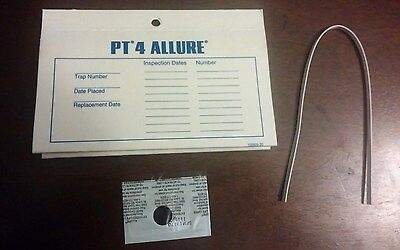 4 Allure Pheromone Moth Trap 24 Traps Pest Control Pantry Moths