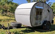 Cute Rustic Home Built Tear Drop Trailer For Sale $8,500 ono Bendigo Bendigo City Preview