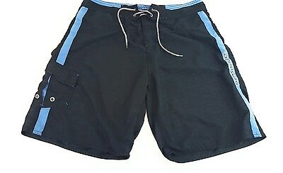 DXS DRAXXUS Extreme Sports Gear Outdoors Board Shorts Black Mesh Size XL