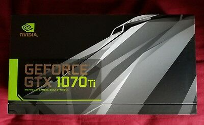Nvidia GEFORCE GTX 1070 Ti - FE Founder's Edition BRAND NEW SEALED!