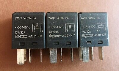 FORD MONDEO TRANSIT FOCUS JAGUAR 5 PIN BLACK RELAY P//N F57B 14B192 AA G1UHQ