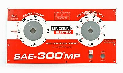 Lincoln Sae-300 Mp Upper Faceplate Bw3263