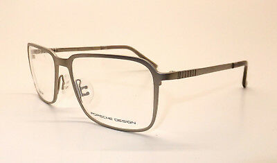 Porsche Design P 8293 B Men Eyewear Optical Frame DEMO Lenses Titanium Z9/16