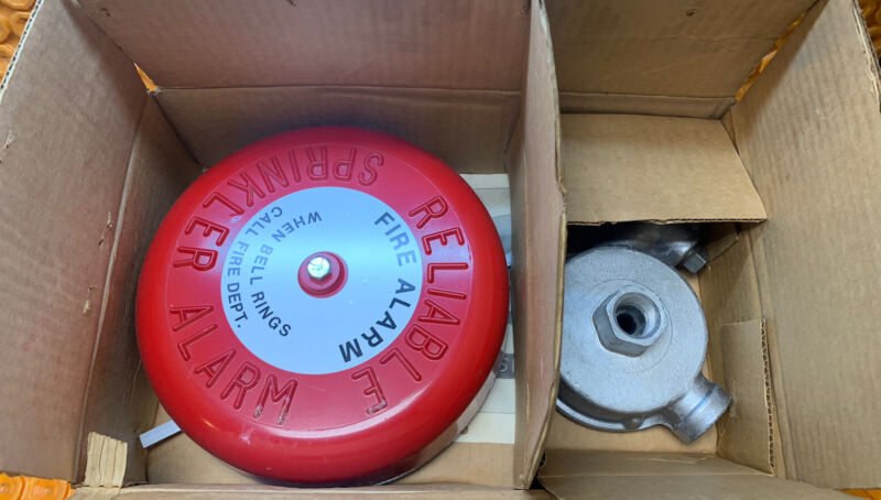 Reliable Automatic Sprinkler Fire Alarm 6302000300 Model C