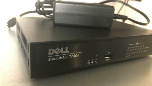 SonicWall TZ400 +Transfer Ready! | Warranty | Genuine | Fast ship options