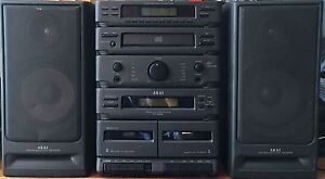 Akai home stereo system with remote excellent condition Bateman Melville Area Preview