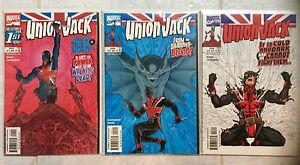 Union Jack ( comic book) 1-3. Cassaday art.