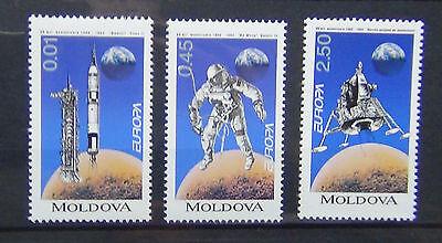 Moldova 1994 Europa Inventions Set MNH