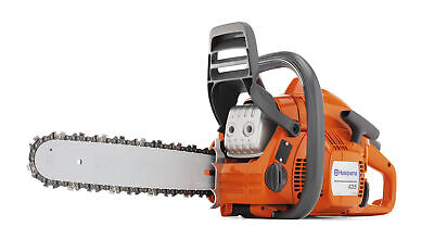 Husqvarna 435 16 in. 40.9cc 2-Cycle Gas Chainsaw, Certified Refurbished 2 Cycle Gas Chainsaw