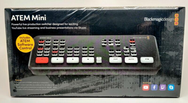Blackmagic Design ATEM Mini - Brand New, Sealed, SHIPS FAST