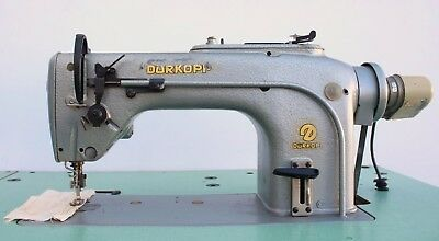 Durkopp 212 Plain Straight Lockstitch Reverse Industrial Sewing Machine 220v 3ph