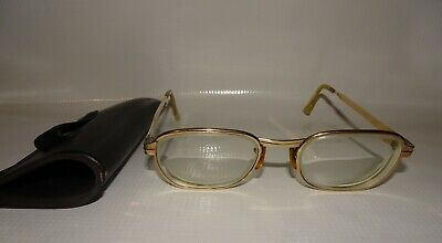 VINTAGE 1/10 12KT GOLD FILLED SRO 5 3/4 50 EYEGLASSES (Fill Eyeglass Prescription)
