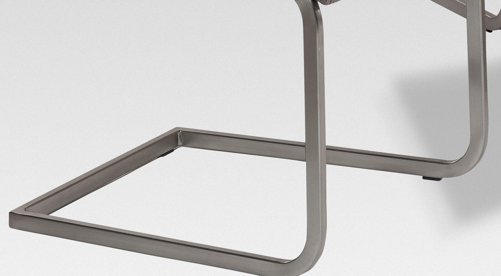 r5189 26 2 freischwinger set stuhl schwingstuhl stoff. Black Bedroom Furniture Sets. Home Design Ideas