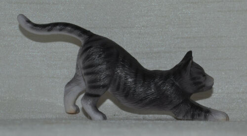 Breyer~2011-14~From Classic Pet Sitter Set~Grey Tabby~Tiger~Stretching Cat Only