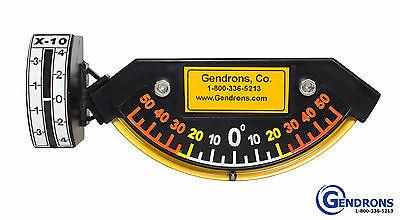 Degree Slope Meter Indicatorlevelfor Dozergradercaterpillarjohn Deerevolvo