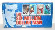 Six Million Dollar Man Board Game