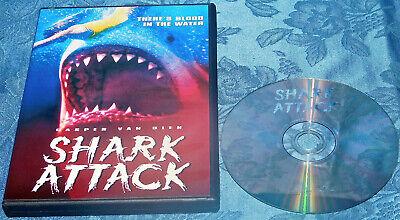 Casper Ghost Halloween Movie (Shark Attack DVD 1999 Rare OOP Casper Van Dien Ernie Hudson IN CASE NEAR)