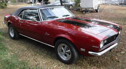 1968 Camaro 350 Automatic Trans - Car Needs Work Belmont Brisbane South East Preview