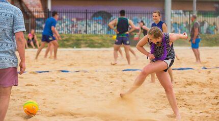 Beach Soccer In Canberra
